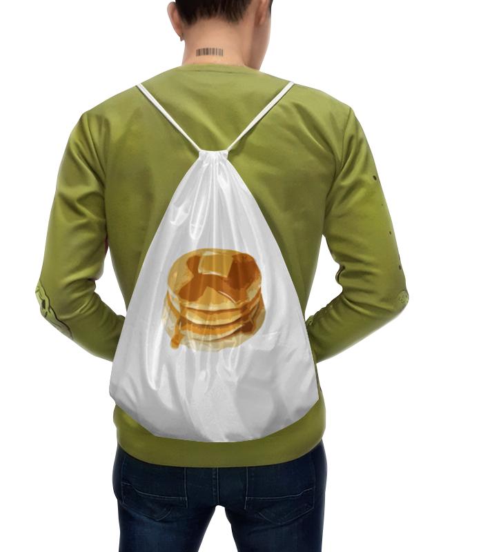 Фото - Printio Рюкзак-мешок с полной запечаткой Блины с маслом printio рюкзак мешок с полной запечаткой грачи прилетели алексей саврасов