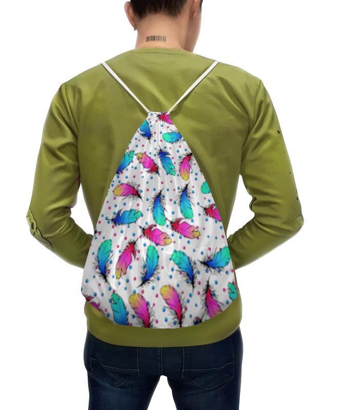 Фото - Printio Рюкзак-мешок с полной запечаткой Яркие перья гай юлий орловский стальные перья