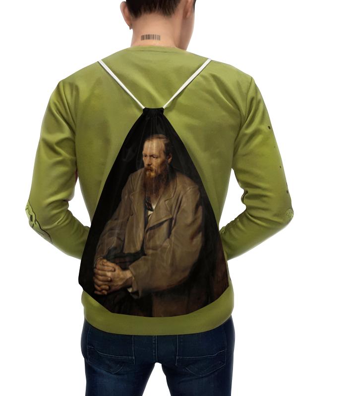 Printio Рюкзак-мешок с полной запечаткой Портрет федора михайловича достоевского
