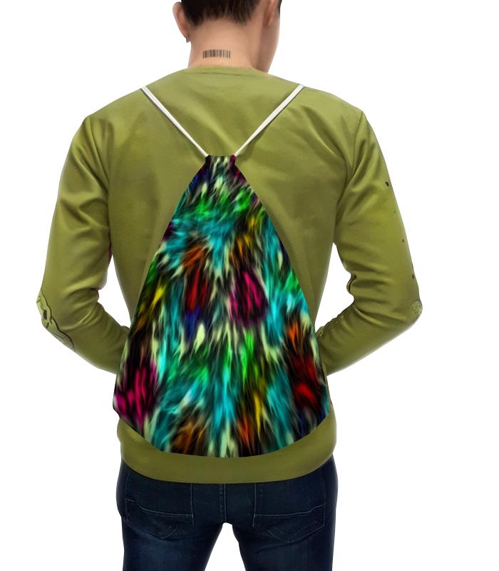 Фото - Printio Рюкзак-мешок с полной запечаткой Разноцветные краски printio рюкзак мешок с полной запечаткой сине красные краски