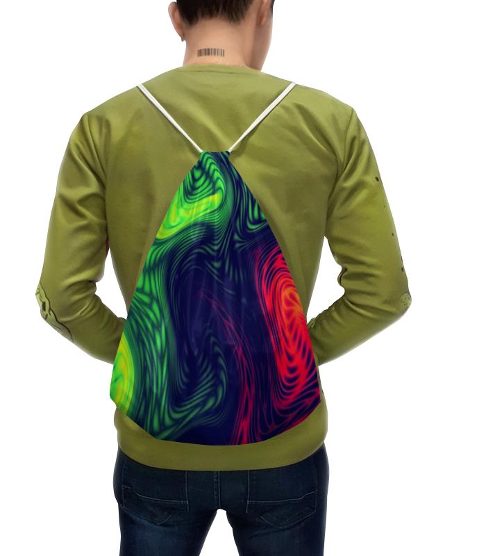 Printio Рюкзак-мешок с полной запечаткой Радужные краски joyarty рюкзак мешок радужные окошки bpa 207087 голубой