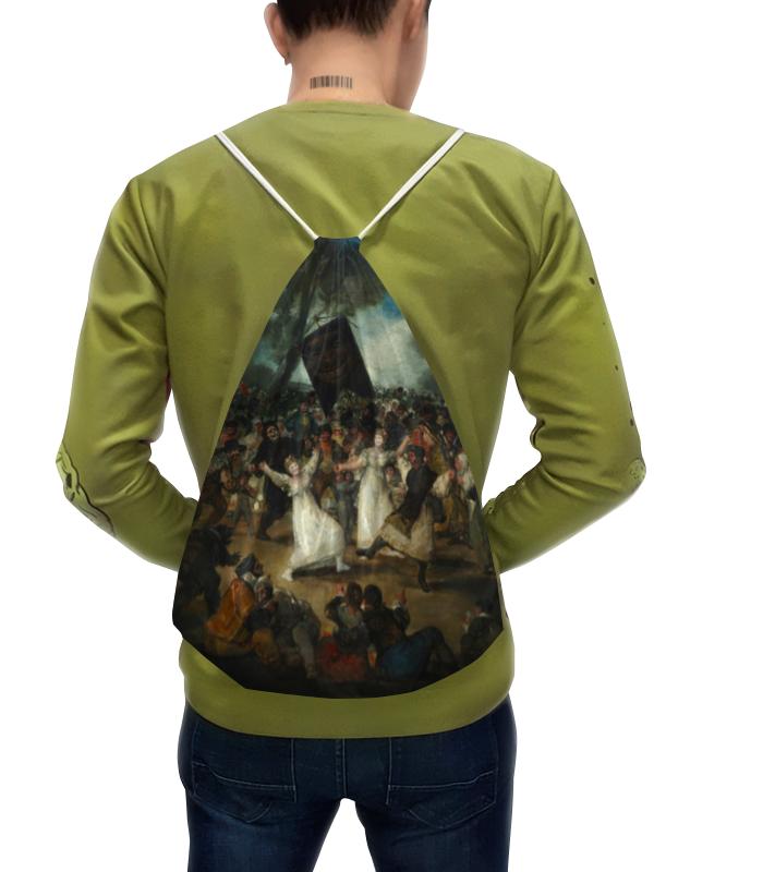 Printio Рюкзак-мешок с полной запечаткой Похороны сардинки (картина гойи)