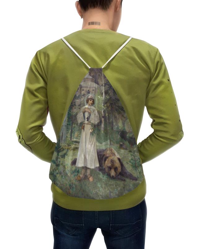 Printio Рюкзак-мешок с полной запечаткой Юность преподобного сергия (михаил нестеров)