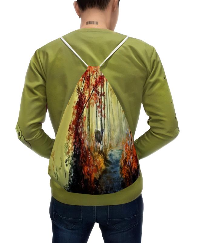 Printio Рюкзак-мешок с полной запечаткой Осенняя роща