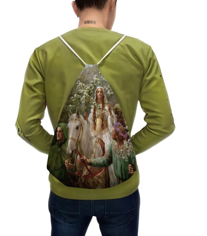 Фото - Printio Рюкзак-мешок с полной запечаткой Королева гвиневера, празднующая приход весны printio рюкзак мешок с полной запечаткой джон уик