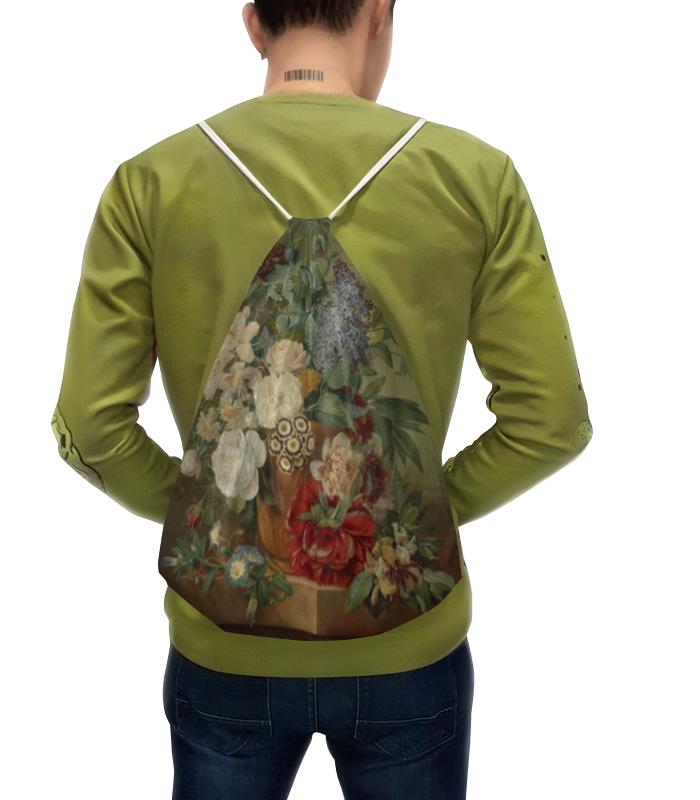 Фото - Printio Рюкзак-мешок с полной запечаткой Цветы в терракотовой вазе printio чехол для samsung galaxy s8 объёмная печать цветочный букет в стеклянной вазе ян де хем