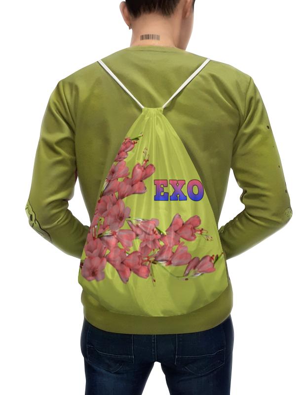 Фото - Printio Рюкзак-мешок с полной запечаткой Exo красные цветы printio рюкзак мешок с полной запечаткой сине красные краски