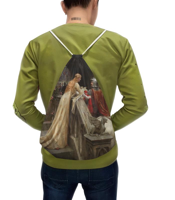 Printio Рюкзак-мешок с полной запечаткой Бог в помощь (эдмунд блэр лейтон)
