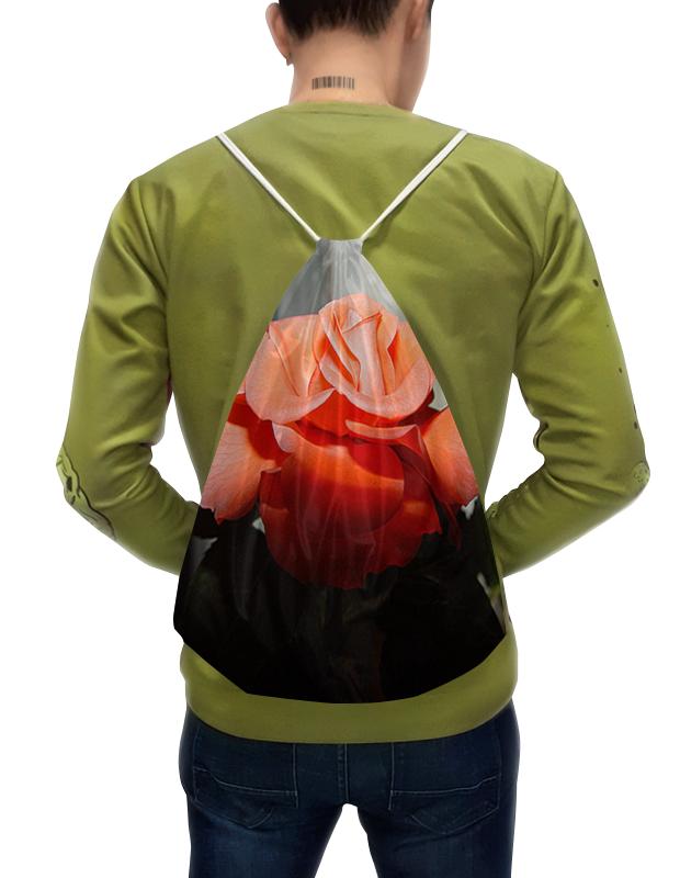 Фото - Printio Рюкзак-мешок с полной запечаткой Алая роза. printio рюкзак 3d алая роза