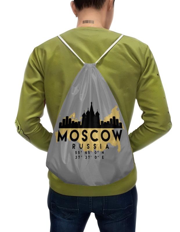 Printio Рюкзак-мешок с полной запечаткой Москва (россия)