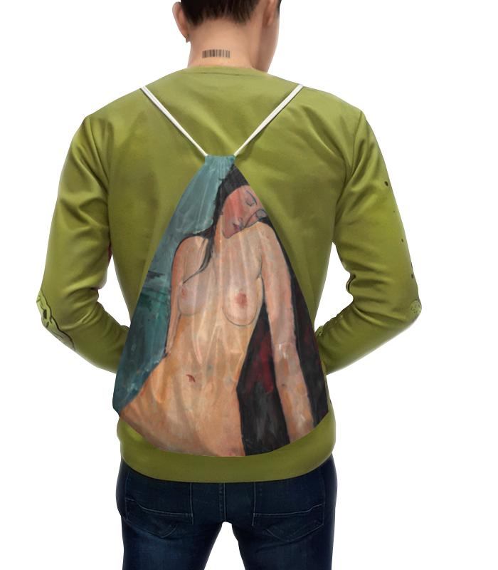 Фото - Printio Рюкзак-мешок с полной запечаткой Сидящая обнажённая (картина модильяни) картина