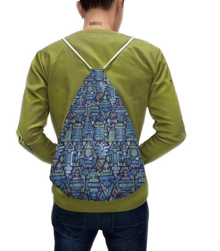 Фото - Printio Рюкзак-мешок с полной запечаткой Символы printio рюкзак мешок с полной запечаткой китайские символы удачи и достатка