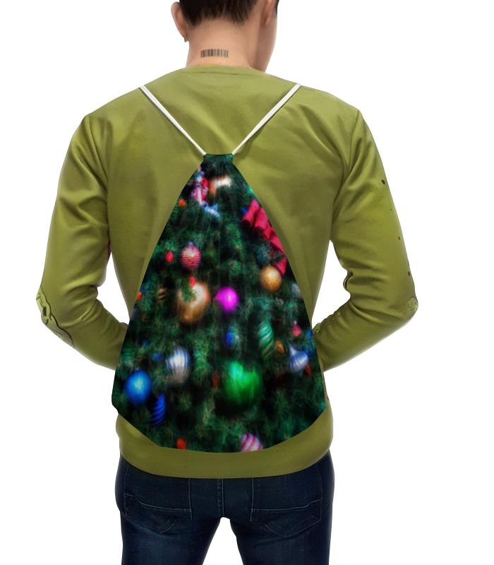Printio Рюкзак-мешок с полной запечаткой Нарядная елка (живопись) юбка в складку printio нарядная елка живопись