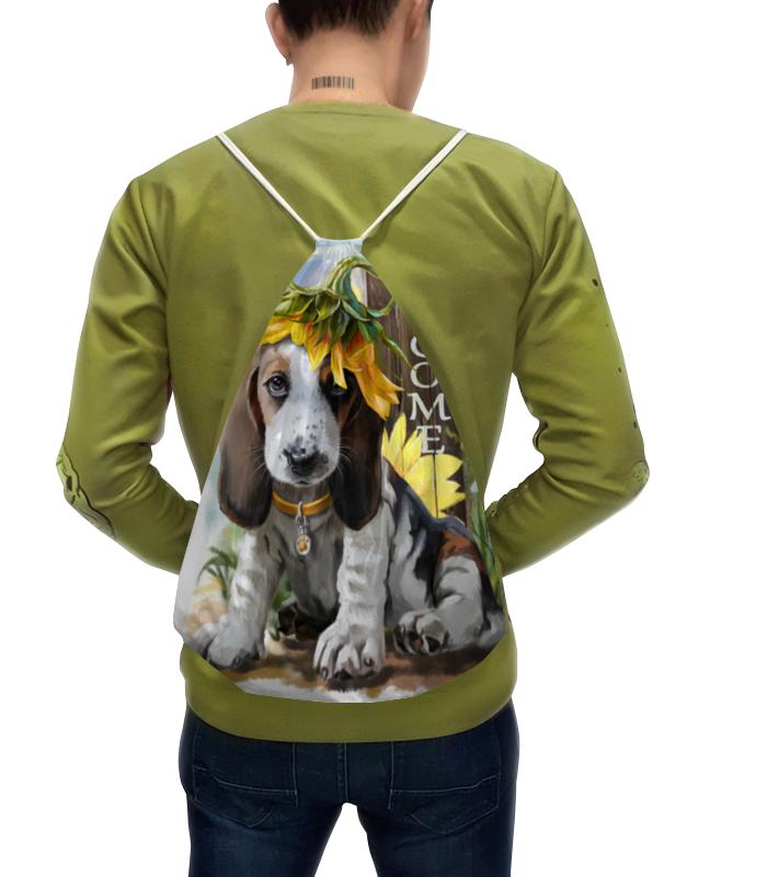Printio Рюкзак-мешок с полной запечаткой Собака