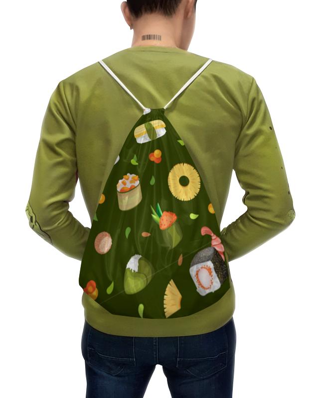 Printio Рюкзак-мешок с полной запечаткой Суши, суши