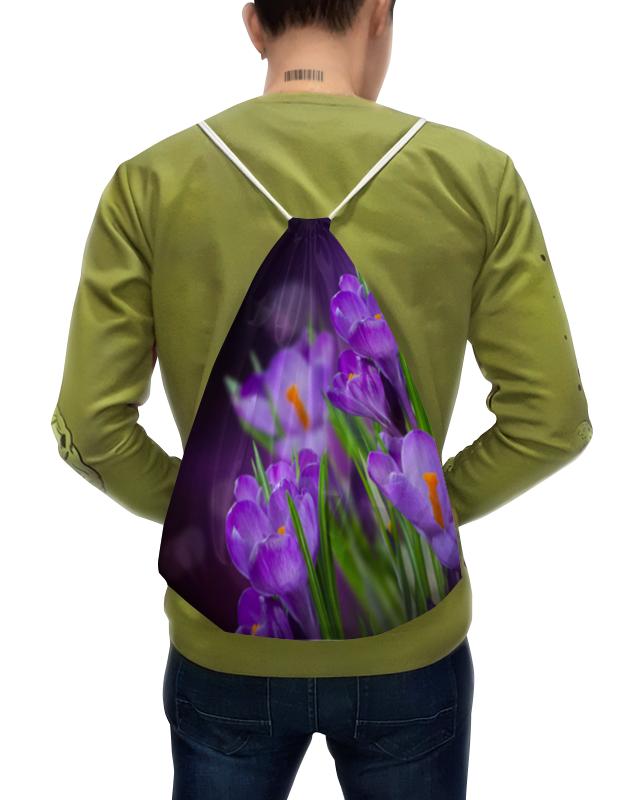Printio Рюкзак-мешок с полной запечаткой цветы