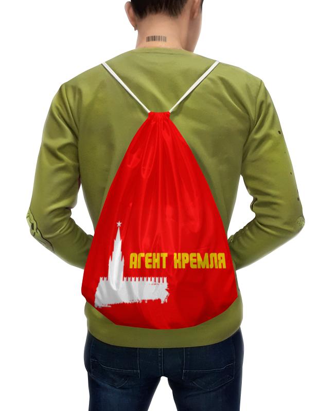Printio Рюкзак-мешок с полной запечаткой Москва, кремль.
