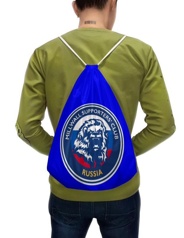 Printio Рюкзак-мешок с полной запечаткой Millwall msc russia small bag