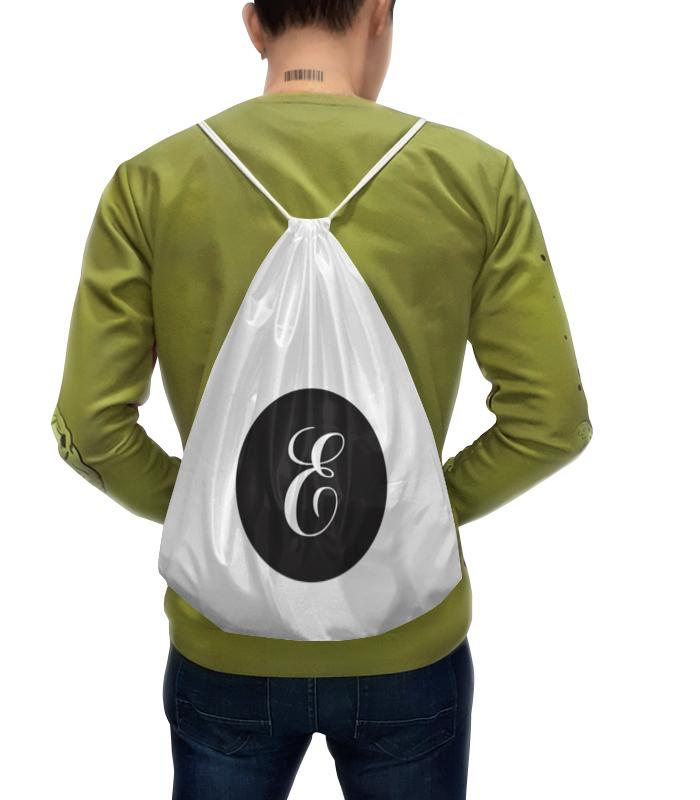 Фото - Printio Рюкзак-мешок с полной запечаткой Монограмма printio рюкзак мешок с полной запечаткой китайские символы удачи и достатка