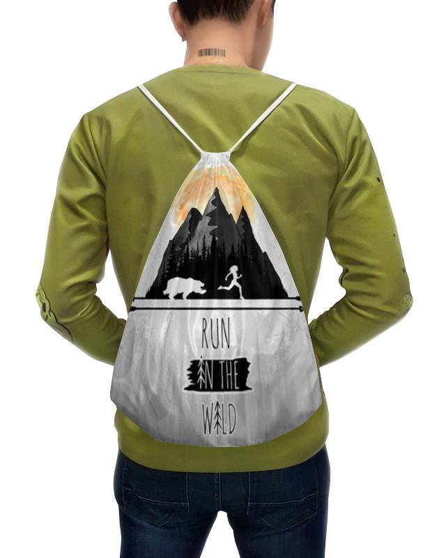 Printio Рюкзак-мешок с полной запечаткой Бег и ориентирование printio рюкзак мешок с полной запечаткой forest dreams pattern
