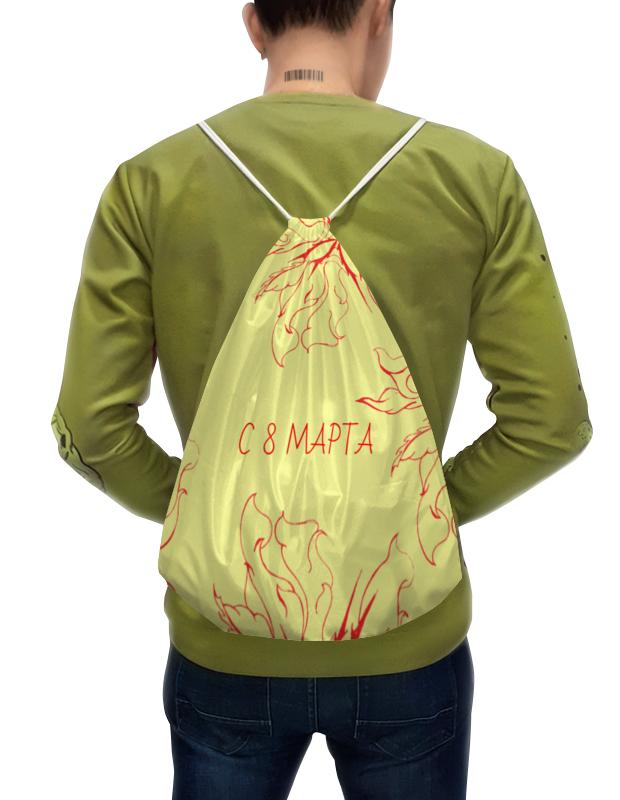 Printio Рюкзак-мешок с полной запечаткой Огненные цветы