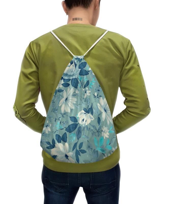 Фото - Printio Рюкзак-мешок с полной запечаткой Цветы. акварель printio плакат a2 42×59 акварель
