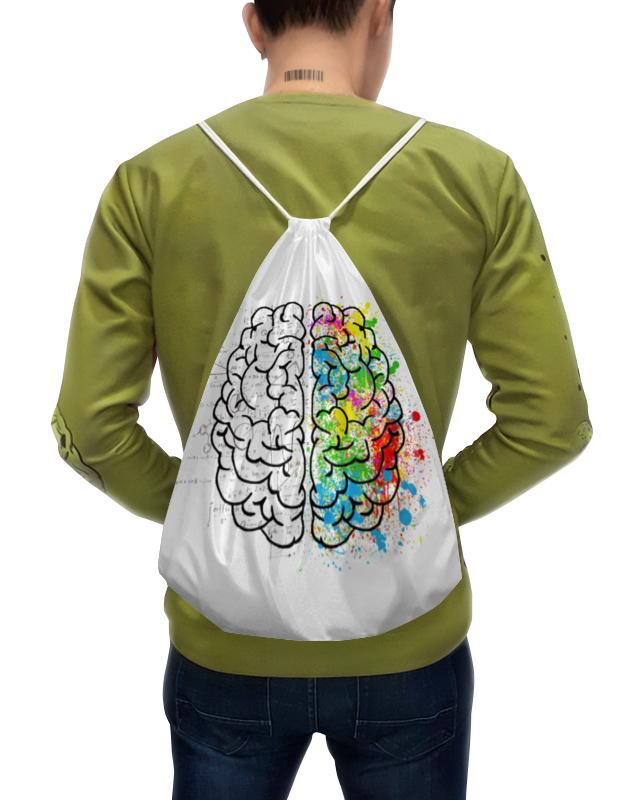 Printio Рюкзак-мешок с полной запечаткой Полушария мозга