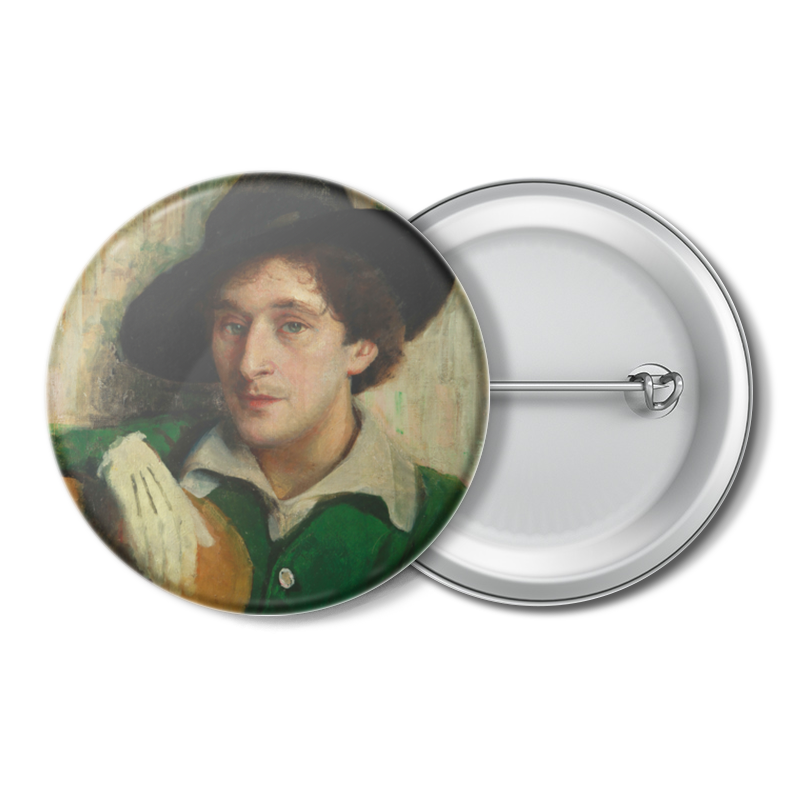 Printio Значок Портрет марка шагала (юдель пэн) printio значок портрет софьи драгомировой репин