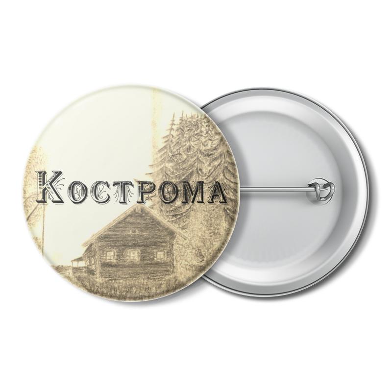 Printio Значок Кострома