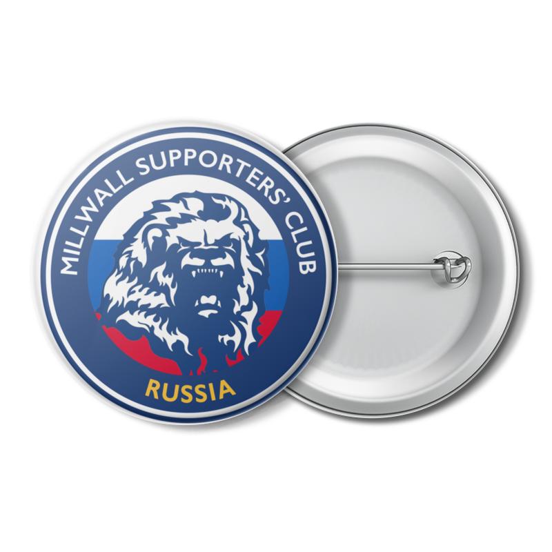 Printio Значок Millwall msc russia badge