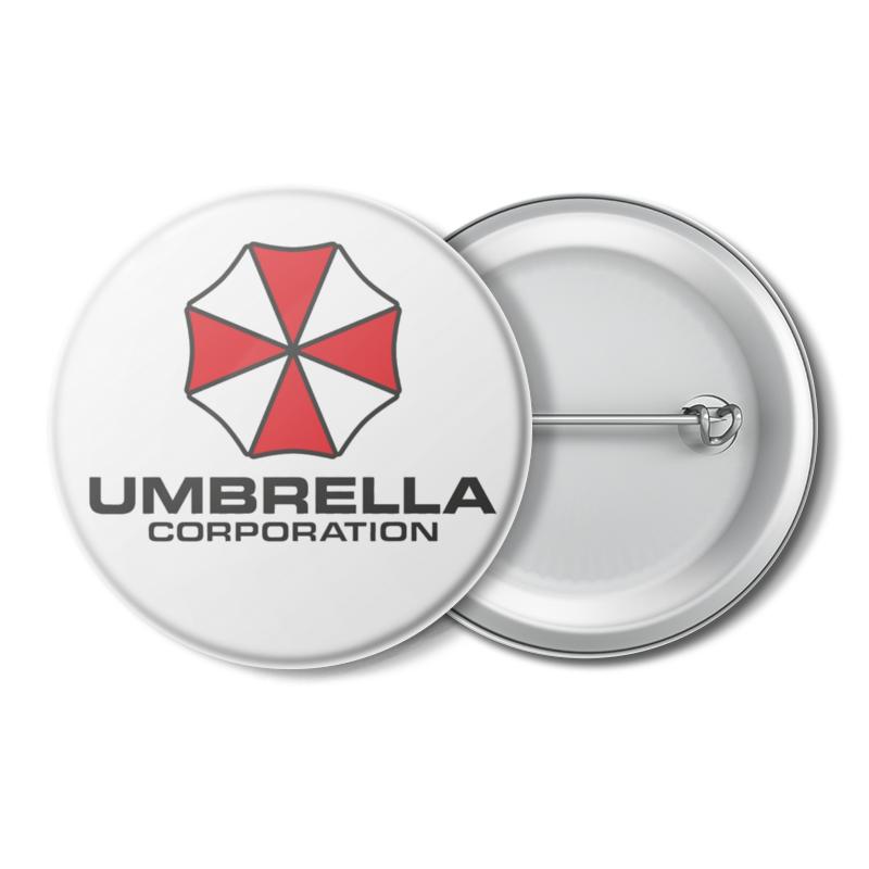 Printio Значок Mood корпорация амбрелла / umbrella corporation!
