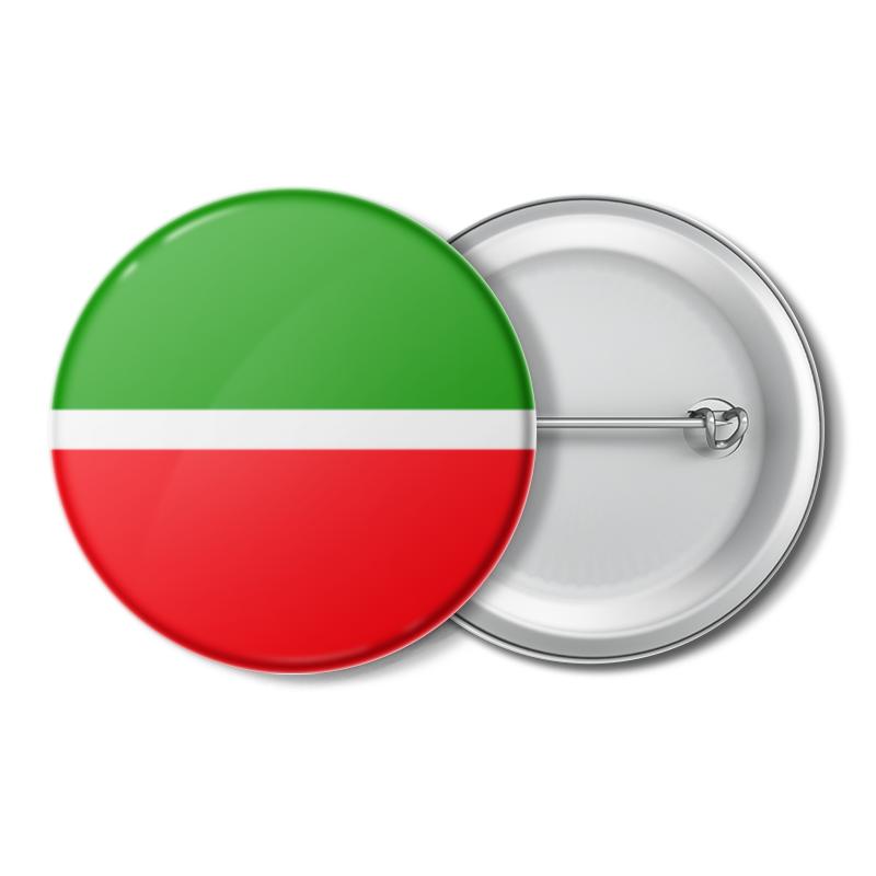 Printio Значок Флаг татарстана