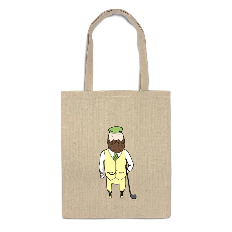 Printio Сумка Джентльмен с клюшкой для гольфа printio сумка с абстрактным рисунком