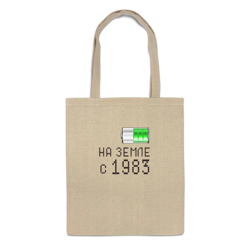 Фото - Printio Сумка На земле с 1983 printio сумка на земле с 1983