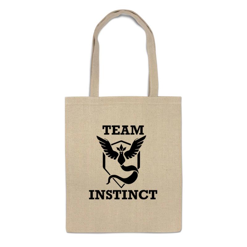 Printio Сумка Команда инстинкт (покемон гоу)