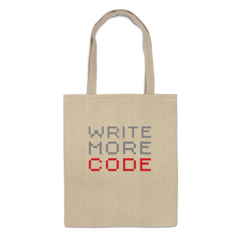 Printio Сумка Пиши больше кода
