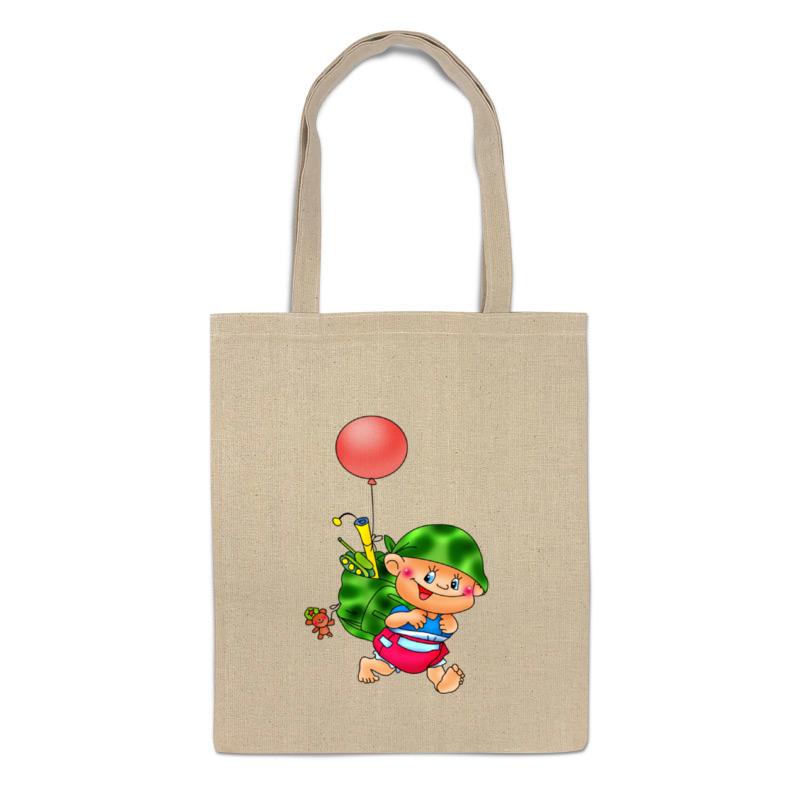Printio Сумка Малыш с игрушками. printio сумка с абстрактным рисунком