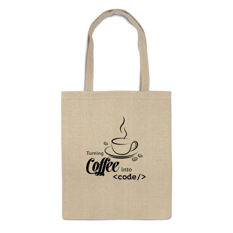 Printio Сумка Кофе и код