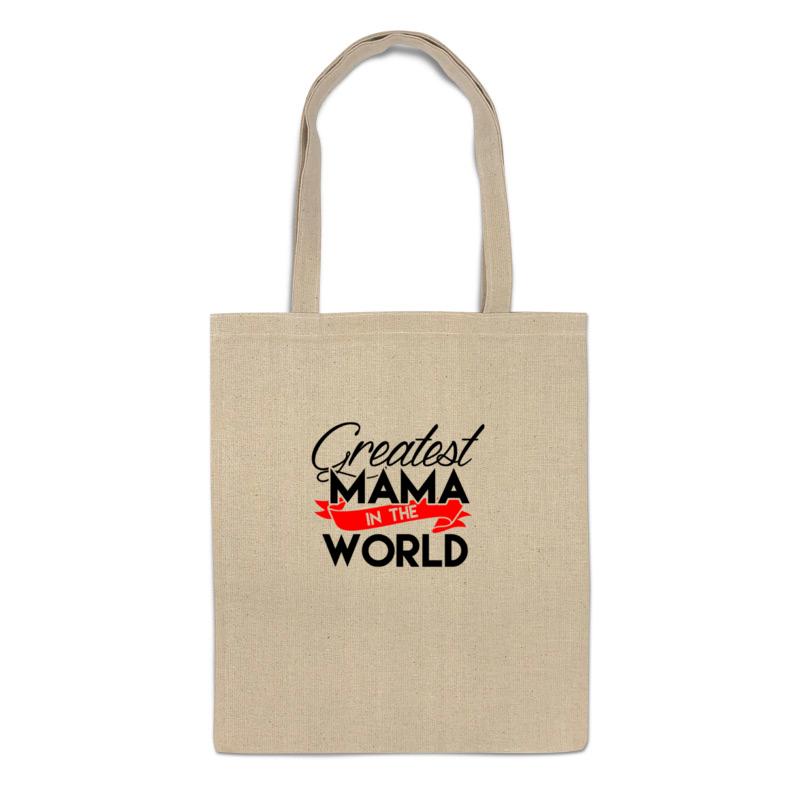 Printio Сумка Лучшая мама в мире (greatest mama in the world)
