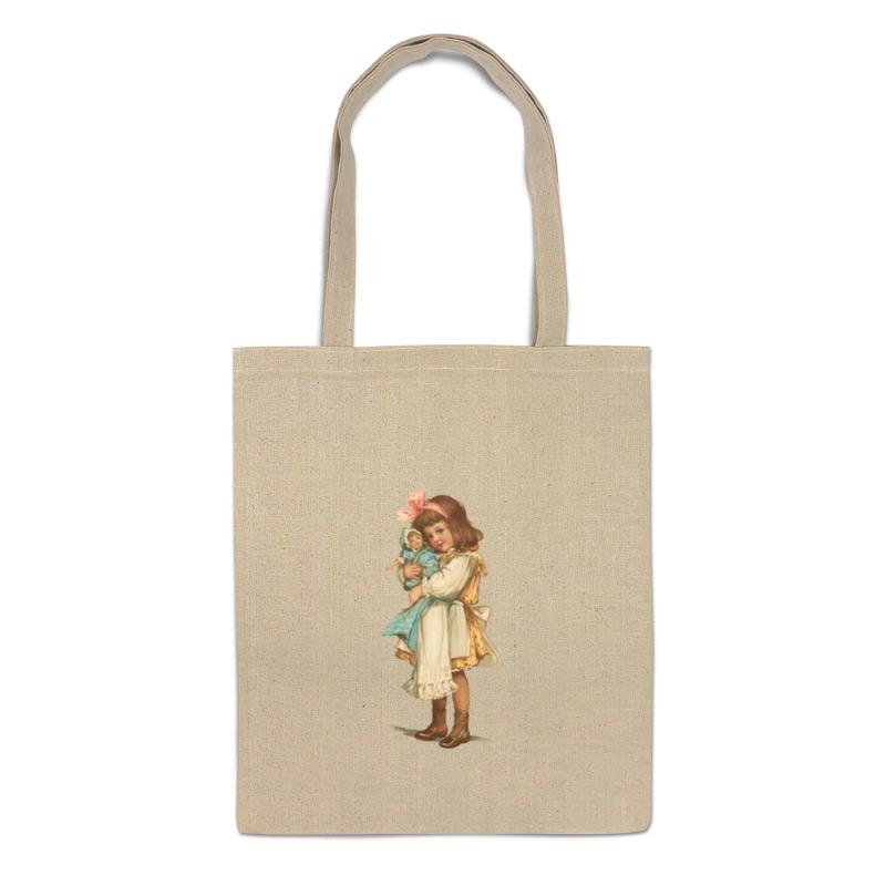 Printio Сумка Девочка с куклой. printio сумка с абстрактным рисунком