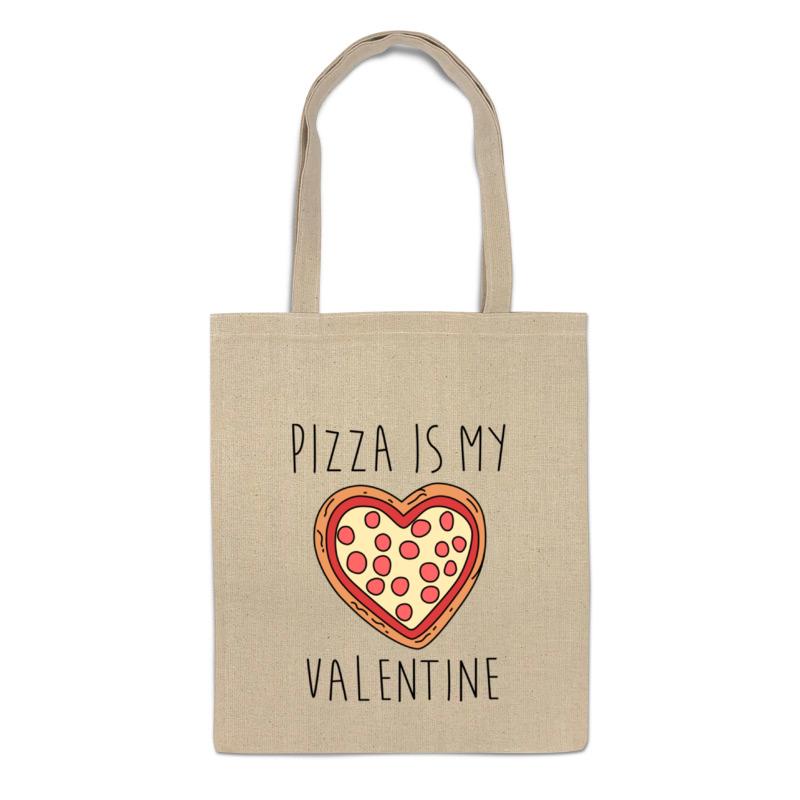 Printio Сумка Пицца - мой валентин