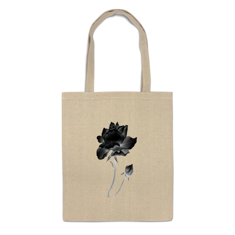 Printio Сумка Черная роза prada стеганая черная сумка diagramme