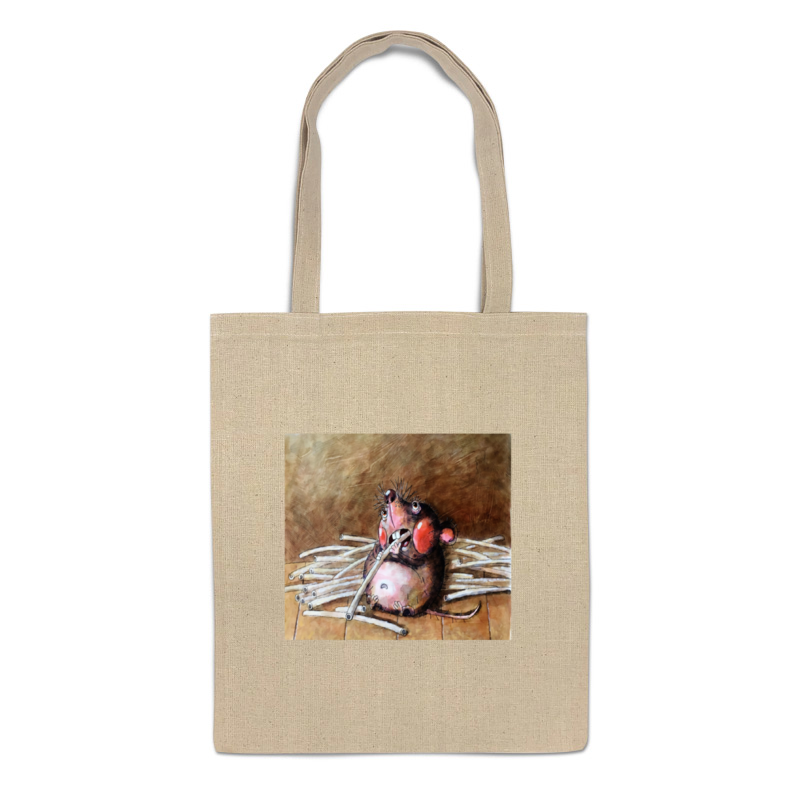 сумка printio мышка Printio Сумка Обед толстой мышки