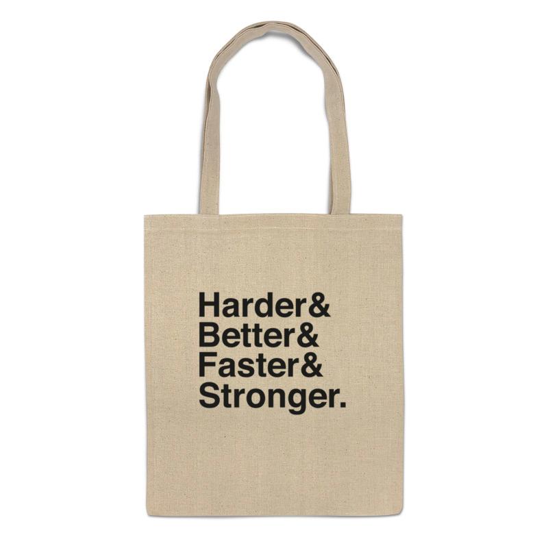 Фото - Printio Сумка Harder, better, faster, stronger printio сумка be better