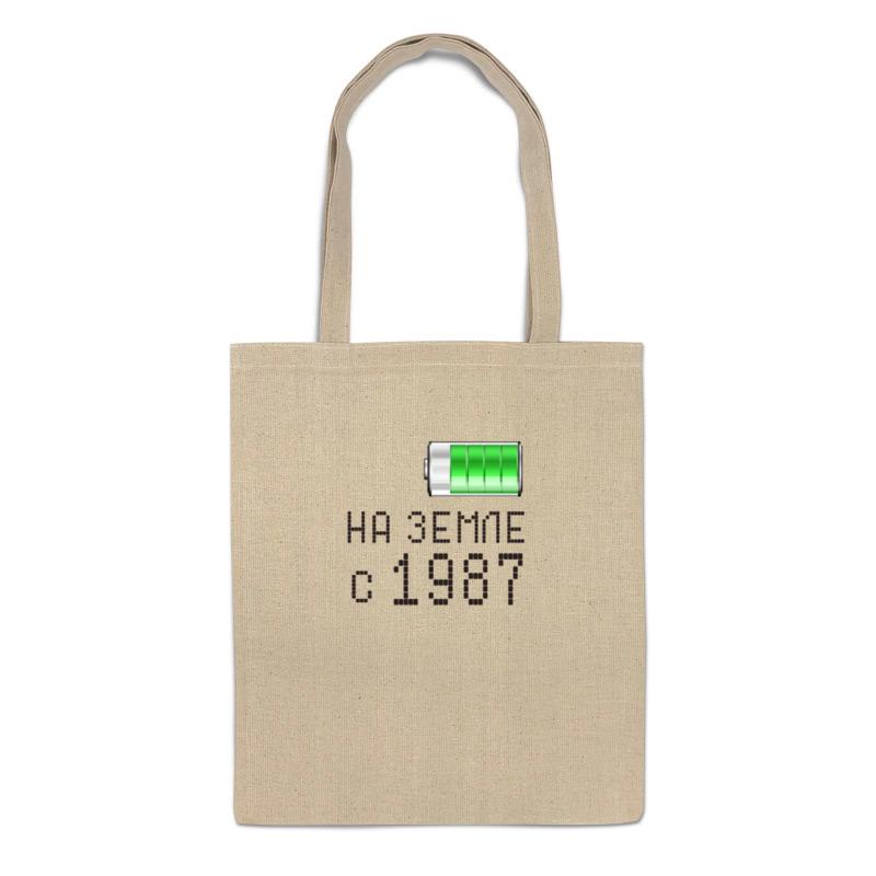 Printio Сумка На земле с 1987 printio сумка с абстрактным рисунком