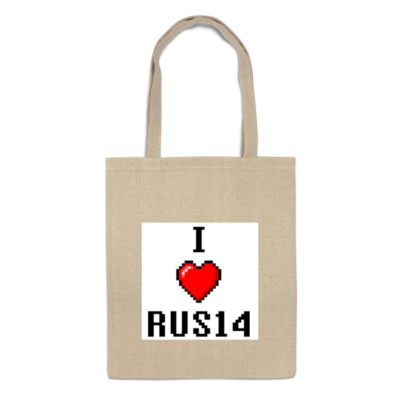 Printio Сумка I love rus14