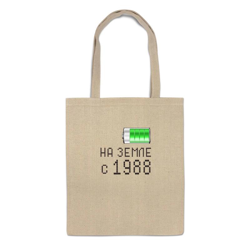 Printio Сумка На земле с 1988 printio сумка с абстрактным рисунком