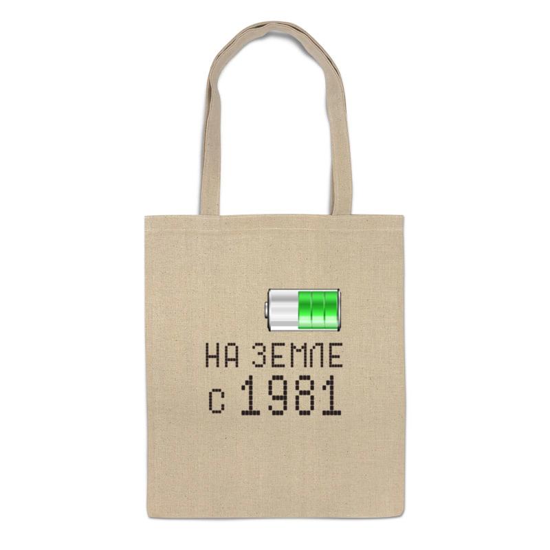 Printio Сумка На земле с 1981 printio сумка с абстрактным рисунком