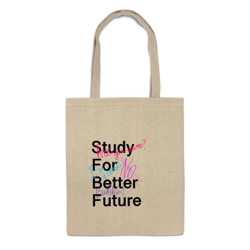 Фото - Printio Сумка Study for better future printio сумка be better