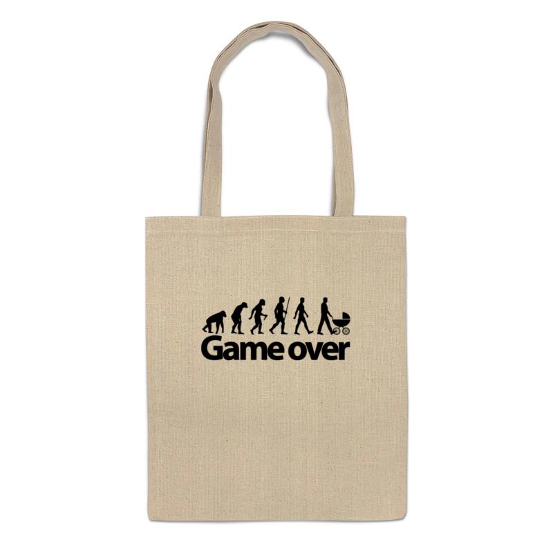 Фото - Printio Сумка Game over (игра окончена) printio 3d кружка game over